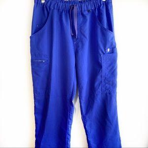 Figs Royal Blue Scrub Pants